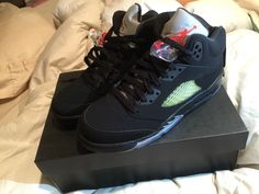 low priced 84584 e7bf0 Air Jordan 5 Retro OG BG Size 6 Gs New Never Worn  fashion  clothing