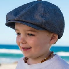 The perfect boys hat for when you need that extra style. This Gatsby cap is made from soft cotton/linen blend material. It is dark grey on the outside with a plaid blue and white lining. Dark Grey, Blue And White, Perfect Boy, Kids Hats, Sun Hats, Gatsby, Cotton Linen, Plaid, Cap