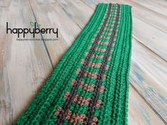 Happy Berry Crochet: How to Crochet a Railway Track Line - Road Play Ma...