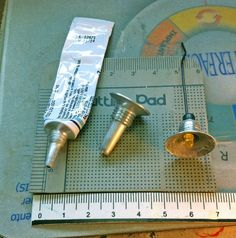 Image only - miniature workshop type hanging light made from tube