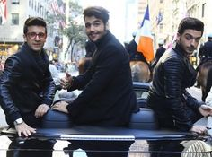 @ilvolomusic at The 2015 NYC Columbus Day Parade October 12, 2015 Credit: AR Photo/Splash News Corbis Images Thanks to them for sharing #ilvolo #ColumbusDayParade #CorbisImages #ilvoloversdelmundo #ilvolomundialoficial