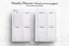 Mini Happy Planner Check Registers Just The Basics Pink  Purple