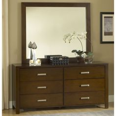 Paxton Dresser and Mirror