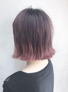 Japan Fashion, Cute Hairstyles, Hair Goals, Short Hair Styles, Hair Makeup, Hair Cuts, Hair Color, Dreadlocks, Beauty
