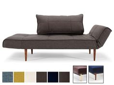 Zeal Styletto Daybed Single Convertible Sofa Bed By Innovation Living