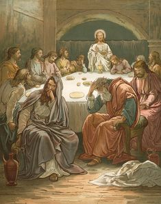 The Last Supper Painting by John Lawson -