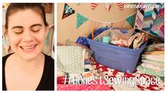 I'm starting a new challenge called Sew Your Stash!  Spend this year using the fabric and other craft supplies you have on hand.  Create new things and finish old WIPs too.