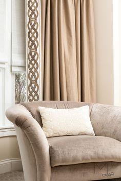 Sophisticated Bedroom, Custom Drapes, Transitional Decor, Design Firms, Service Design, Tape, Bedrooms, Chairs, Velvet
