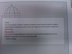 Google Personalized Items, Google