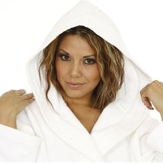 914b21e9cb All rooms feature his and hers Velour Hooded Bathrobe - White Luxury