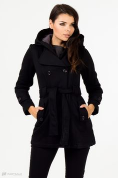 Coat Model 410292 Black - Depare