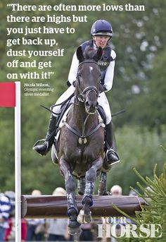This month we interview Olympic eventing silver medallist, Nicola Wilson Eventing who shares her plans for 2014 and explains why Opposition Buzz is her one in a million.  The April issue of Your Horse magazine is on sale now!