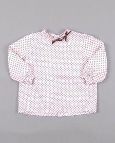 Blusa con lacitos aterciopelados marca Kiriki http://www.quiquilo.es/catalogo-ropa-segunda-mano/blusa-ml-con-lacitos-aterciopelados-color-rosa-marca-kiriki.html