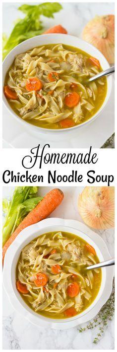Homemade Chicken Noo