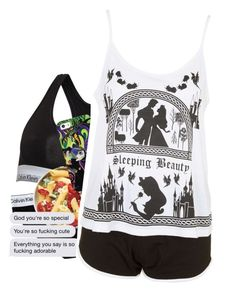 """""""Night set"""" by lostinthecosmics ❤ liked on Polyvore featuring Calvin Klein, Casetify and Topshop"""