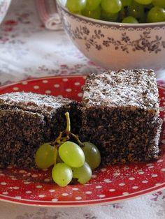 Jemelínský makovec Deserts, Goodies, Dessert Recipes, Pudding, Sweets, Cooking, Food, Pies, Bakken