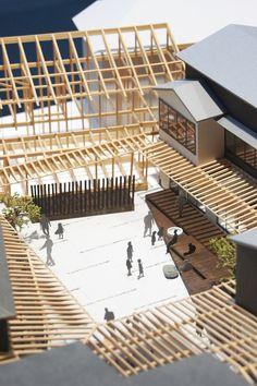 8月21日よりプリズミックギャラリーで始まるSALHAUS建築展「共有される風景」のオープニングに行ってきました。 展覧会概要: 『これまでの7年間につくってきた建築のことを振り返ると、それらは私たち3人が共有でき、またその建築に関わる多くの人々が共有できる風景をつ... System Architecture, Japan Architecture, Architecture Collage, Chinese Architecture, Architecture Details, Landscape Architecture, Interior Architecture, Architecture Models, 3d Modelle