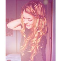 braid | Tumblr ❤ liked on Polyvore featuring hair, pictures, hairstyles, people and photos