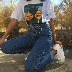 casual outfits date 90s Fashion, Fashion Outfits, Womens Fashion, Fashion Trends, Looks Style, My Style, Mode Grunge, All Jeans, Look Vintage