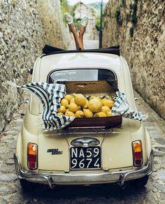 drive a classic fiat 500 across the amalfi coast The Last Summer, Italian Summer, Smoking Slippers, Amalfi Coast, Mellow Yellow, Summer Vibes, Summertime, The Best, Wanderlust