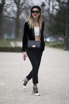 Chiara Ferragni | La parisienne: second look from the Haute Couture SS17