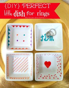 {DIY} Perfect little ring dish - My House and Home
