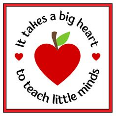 Big Heart Teacher Personalized Candle - Thank your teacher for everything she has done for you this year with our Big Heart Personalized Candle. Our fun and colorful design features an apple shaped heart and is a gift that any teacher will love receiving.