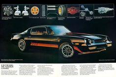 1980 Camaro   Chevrolet Camaro Z28 1980