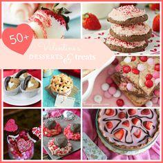 50+ Delicious Valentine's Day Treats at http://therecipecritic.com