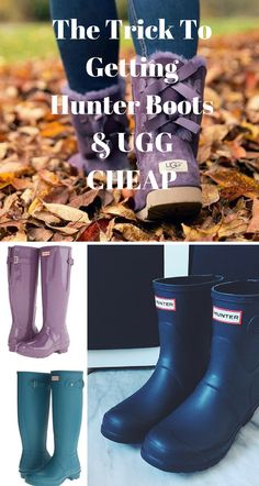 UGG & Hunter at a discount! Shop your favorite brands at up to 70% off now. Click image to install the FREE app now.