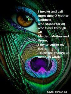 Nice short Goddess Invocation