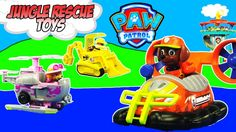 PAW PATROL TOY COLLECTION - Paw Patrol Jungle Rescue Vehicles Toy Playset Adventure