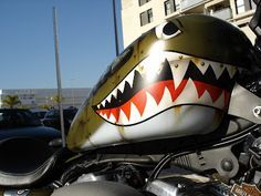 Harley-Davidson Fighter Nightster tank - awesome paint