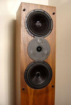 Royd Audio Doublet floor standing speakers.