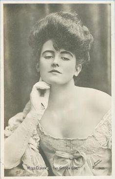 Miss Clarke, the Gibson Girl