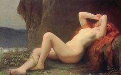 Jules-Joseph Lefebvre (1836 - 1911) French painter