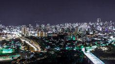 Colombia - Bucaramanga nocturna, Santander.