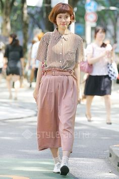 Blush, Omotesando, Momoko's STYLE -TOKYO STREET STYLE | スタイルアリーナ style-arena.jp
