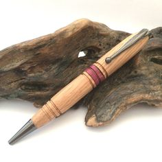 Stylo à bille  Stylo en bois  Stylo en bois tonneau de par KevsKave