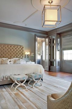 Coastal Beach Home Decor ~  Bedroom....love everything about this room!