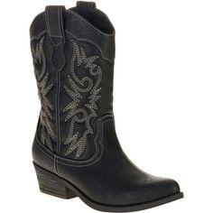 Faded Glory Women's Fashion Cowboy Boot -Exclusive Color - Walmart.com