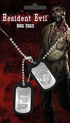 Resident Evil Dog Tags