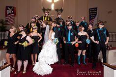 Superhero bridesmaids & groomsmen
