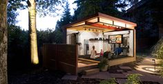 Idea for a backyard massage parlor?