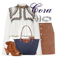 """Cora"" by alyssa-eatinger ❤ liked on Polyvore featuring Isabel Marant, Longchamp, Vince Camuto, House of Harlow 1960 and Worthington"