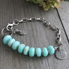 Hey, I found this really awesome Etsy listing at https://www.etsy.com/listing/178592365/peruvian-opal-oxidized-sterling-bracelet