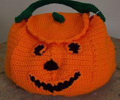 4012 Pumpkin Bag by CraftsbyRandC on Etsy, $14.95