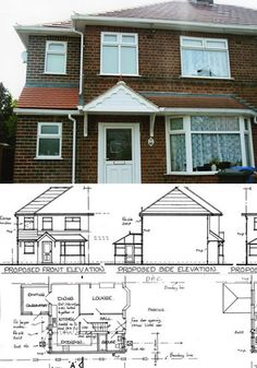 Derby based house extension experts Brough Services Ltd. Single & double storey home extensions & general house improvements. House Extension Plans, Building Extension, Side Extension, House Extension Design, Extension Ideas, Garden Room Extensions, House Extensions, House Siding, House Roof