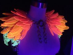 VolyKyrie Feather Shoulder Wings by ElectricCandyCouture on Etsy