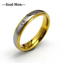 4MM Cubic Zircon Tungsten Carbide Band Rings For Women Wedding Engagement Fashion Jewelry Birthday Anniversary Gift